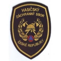 Znak nášivka HZS ČR tmavomodrý