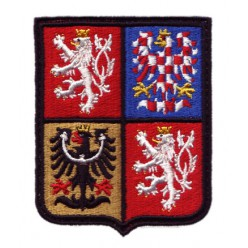 Znak nášivka ČR 65x81mm